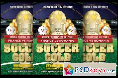 Soccer Gold France Eurocup 2016 557690