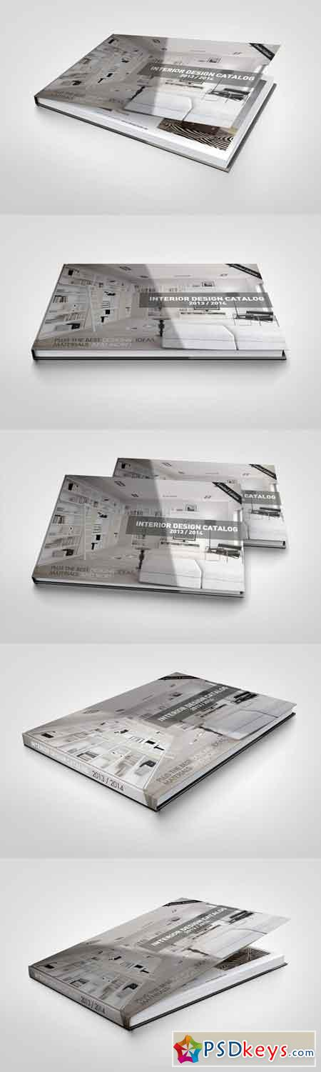 Landscape Book Mock-Up 12125
