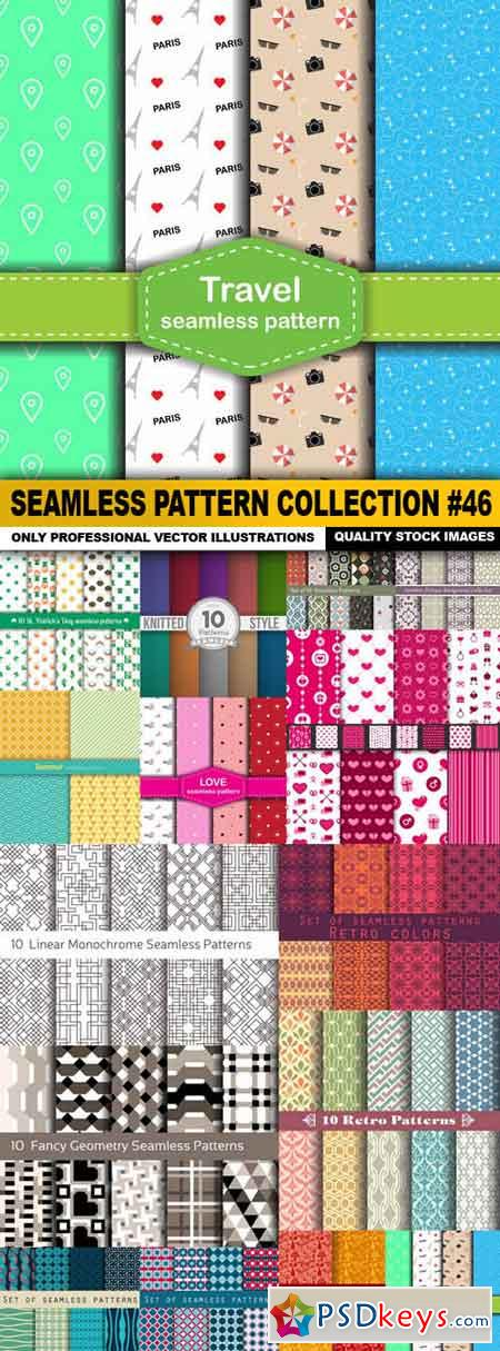 Seamless Pattern Collection #46 - 15 Vector