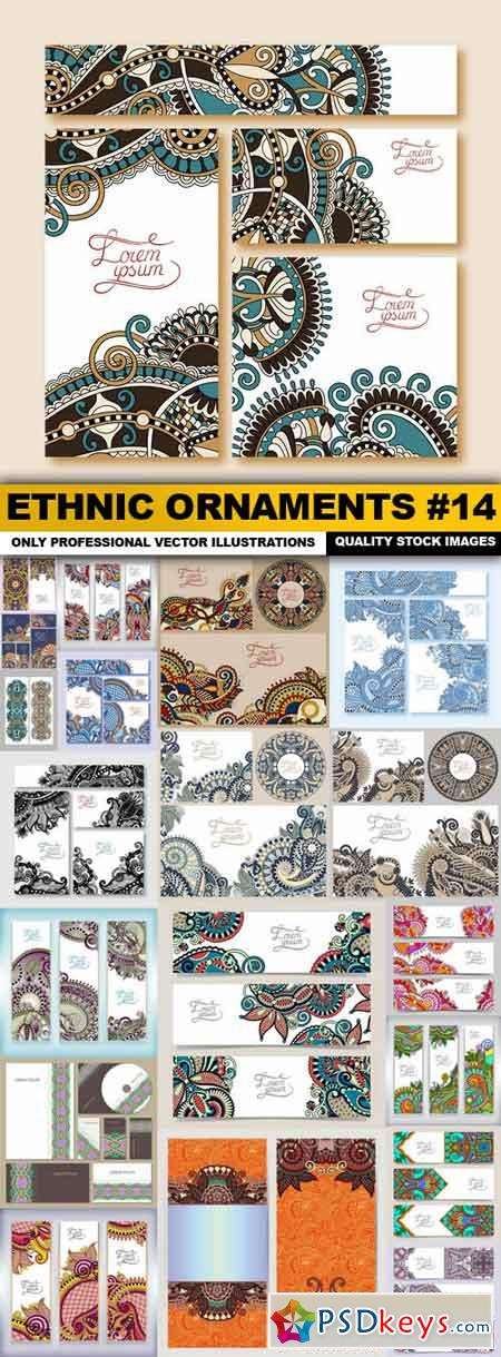 Ethnic Ornaments #14 - 20 Vector