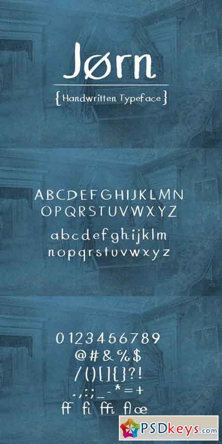 Jørn - Handwritten Typeface 541908