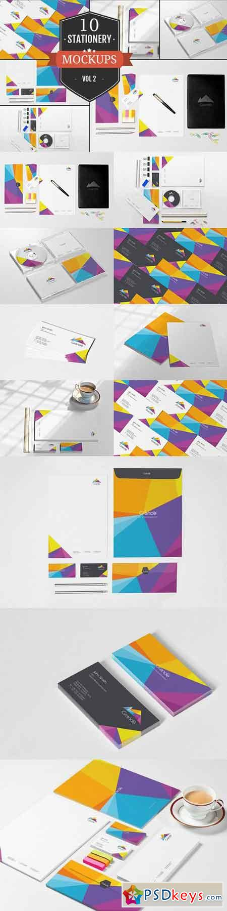 Beautiful Stationery Mockups Vol. 2 346679