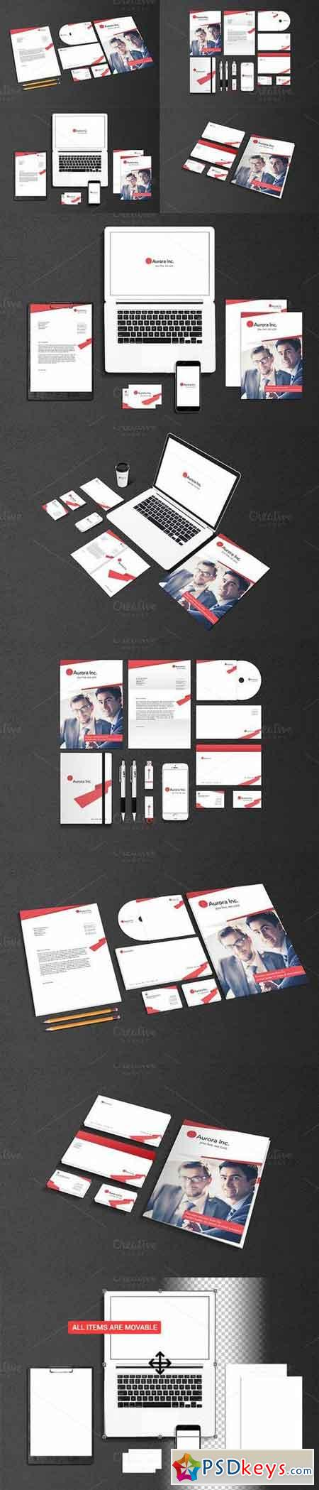 Stationary And Branding - Mockups 373665