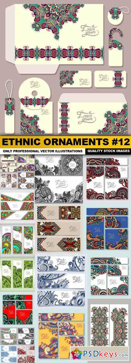 Ethnic Ornaments #12 - 20 Vector