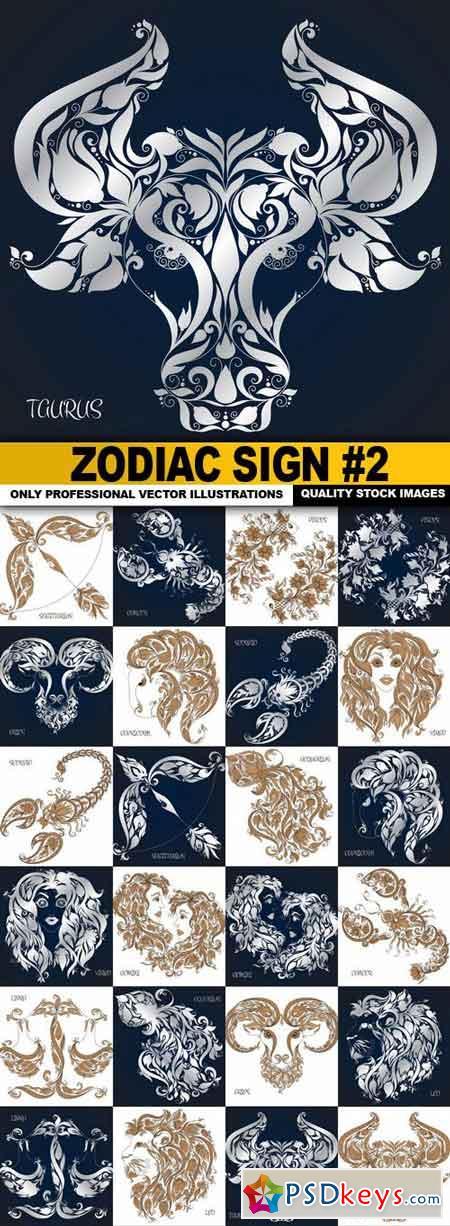 Zodiac Sign #2 - 24 Vector