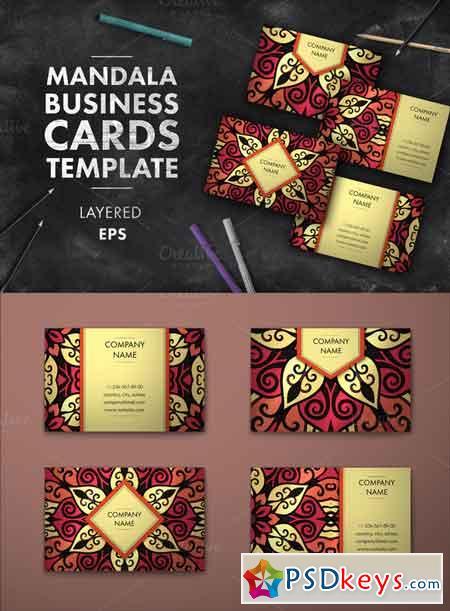 Mandala business card 008