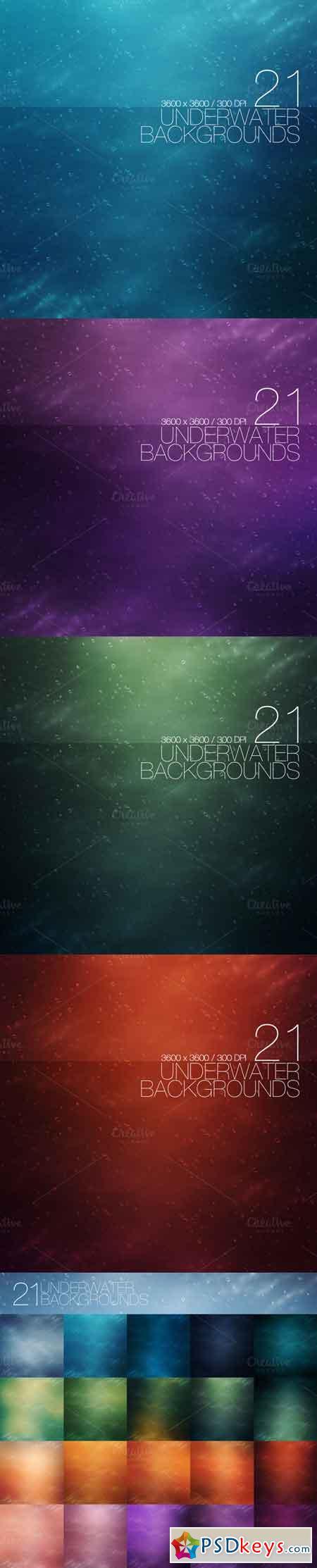 21 Underwater Backgrounds 457755