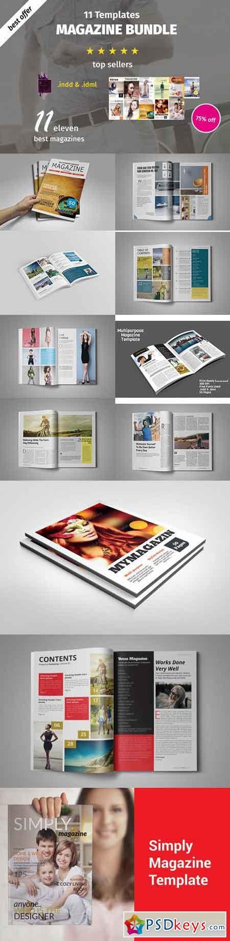 Bundle 11 Magazines 656998