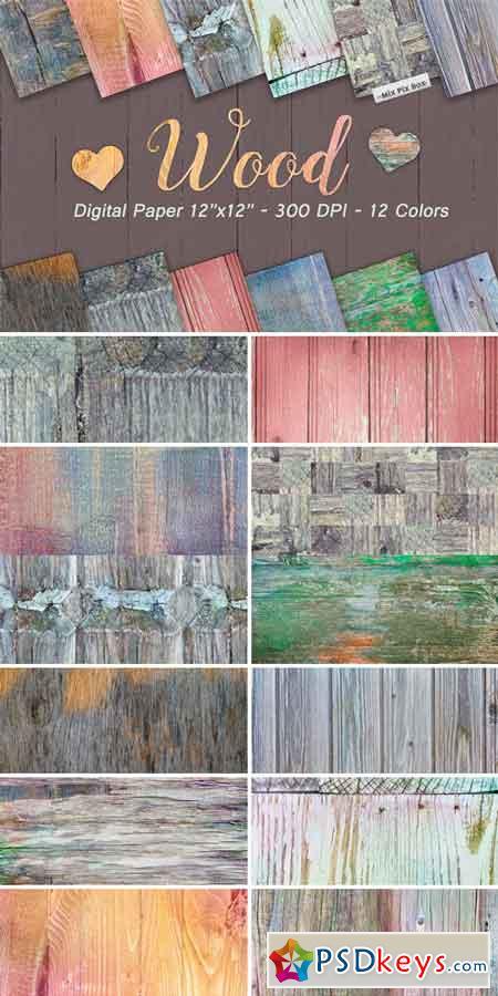 Wood Digital Paper 633184