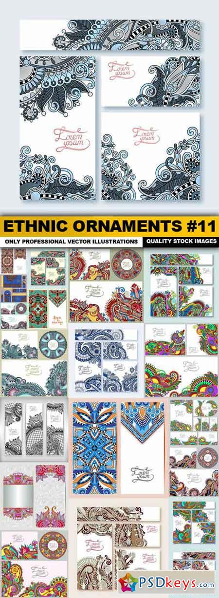 Ethnic Ornaments #11 - 20 Vector
