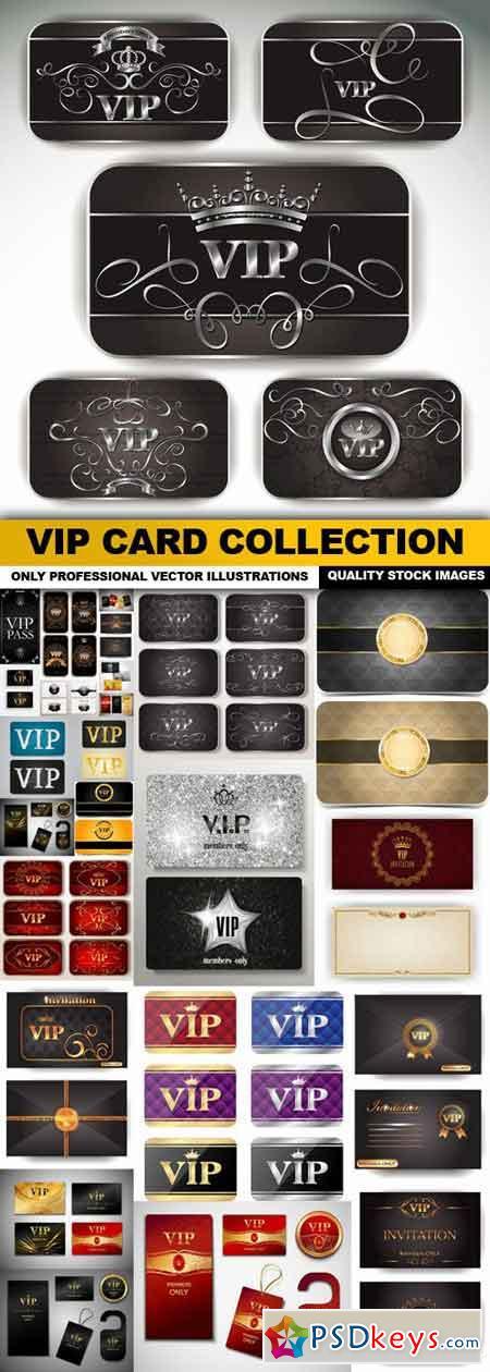 VIP Card Collection - 25 Vector