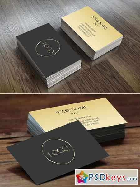 Elegant Business Card 672114