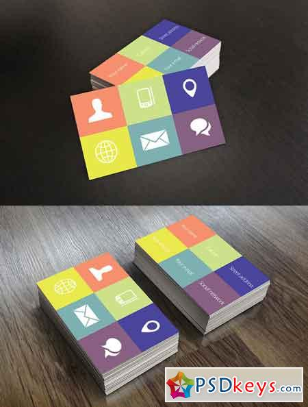 Metro Style Business Card 672080