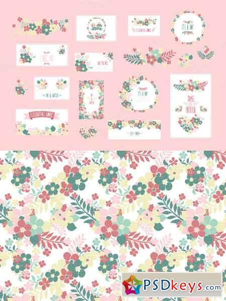 Floral Cards 672111