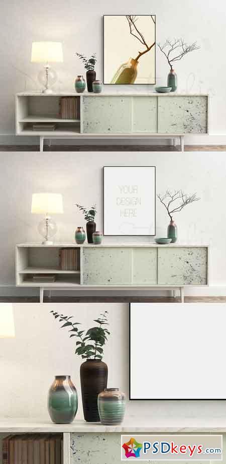 Styled Stock Photo, Frame mockup 671615