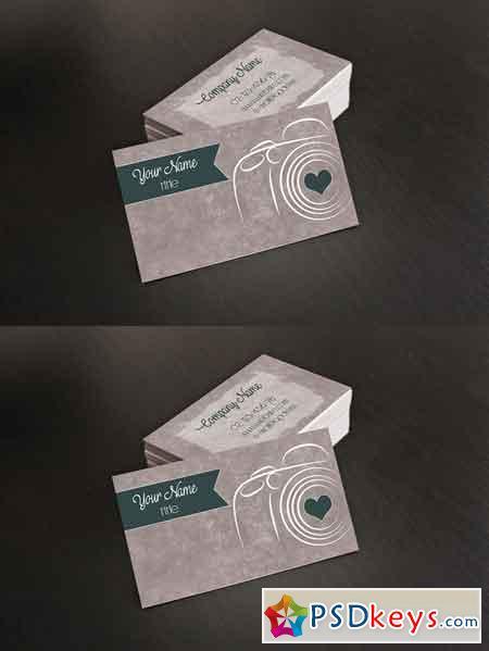 Photographer Business Card 672086