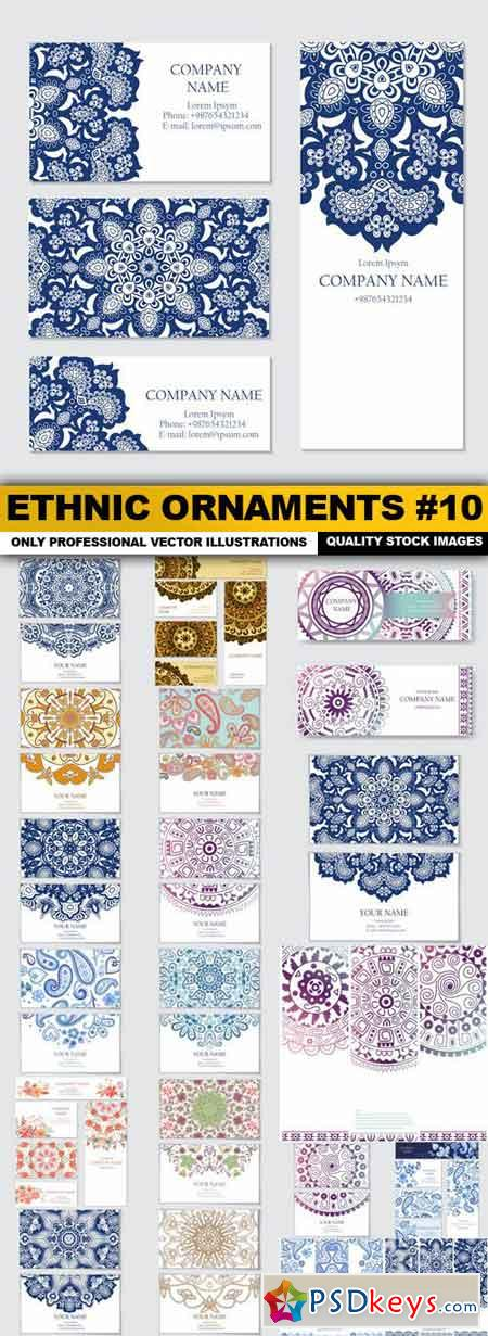 Ethnic Ornaments #10 - 20 Vector