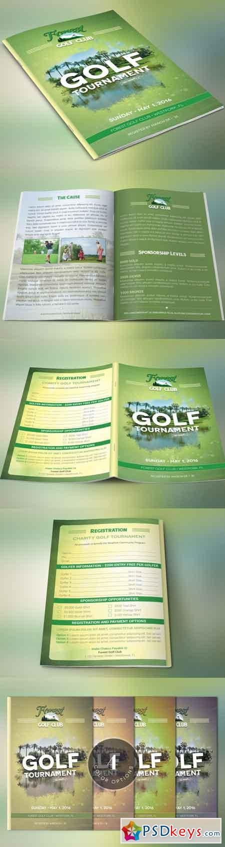 Golf brochure template 671417 free download photoshop for Golf brochure template