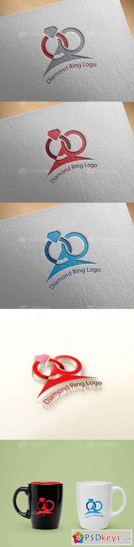 Diamond Ring Logo 6161