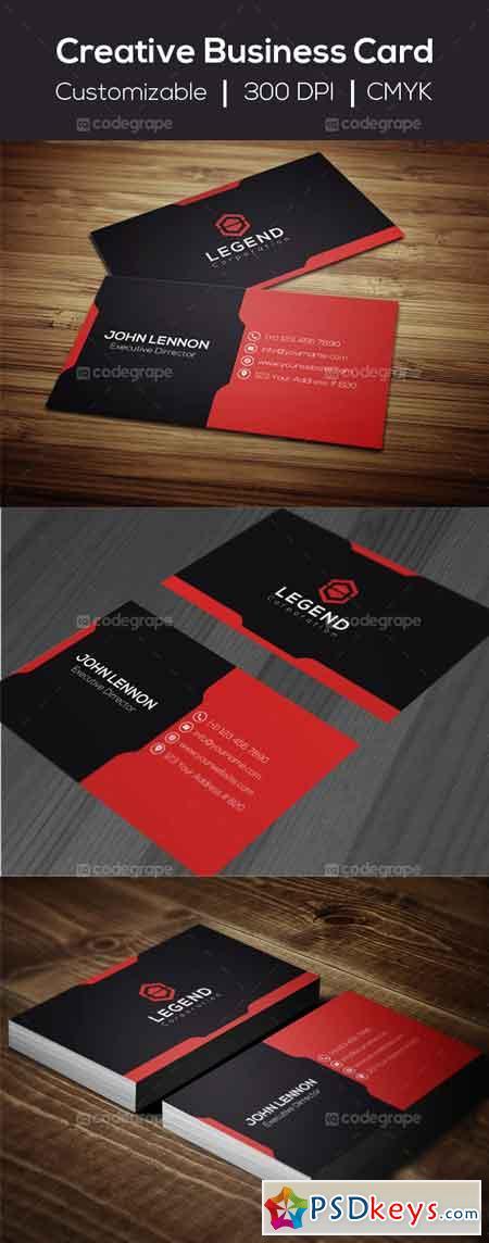 Creative Business Card 5978
