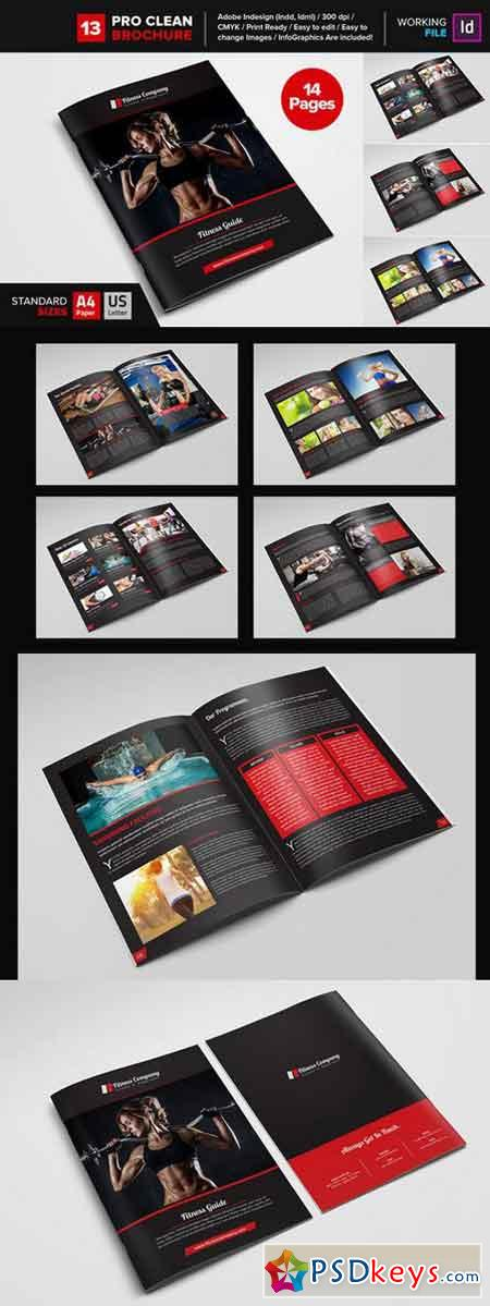 gym brochure template - fitness gym brochure template 13 668628 free download