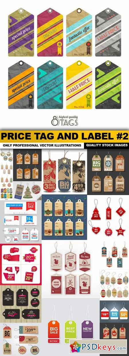 Price Tag And Label #2 - 20 Vector