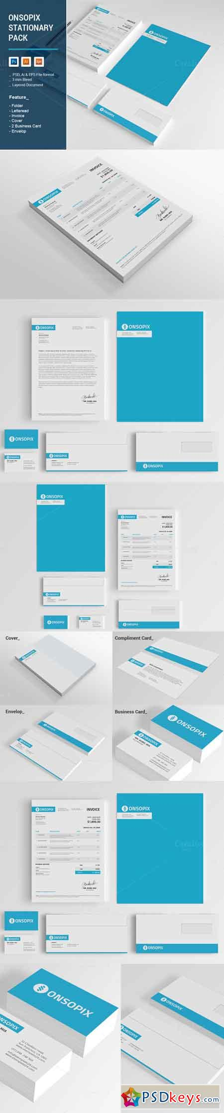 Onsopix Stationary Pack 672083