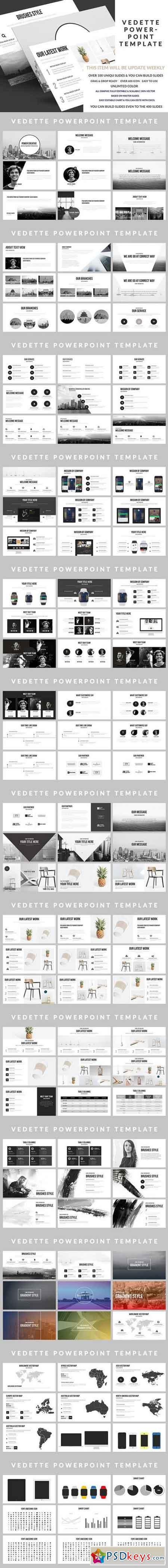 Vedette PowerPoint Template 678251