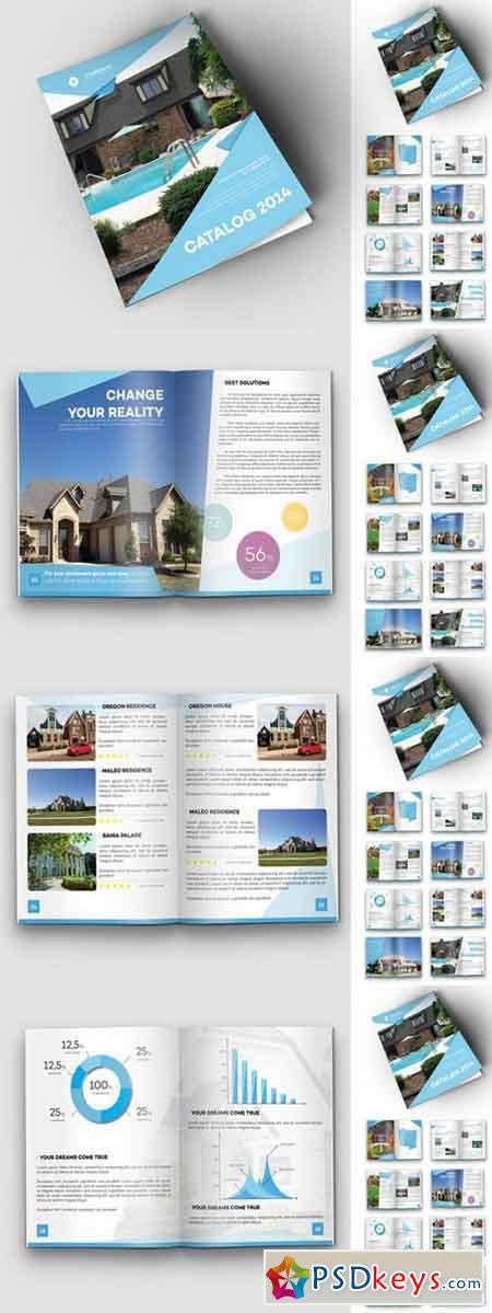 Origami Real Estate Travel Catalog 105336