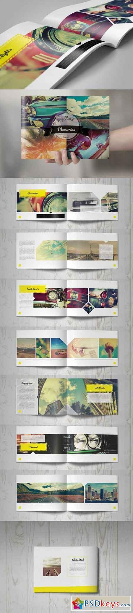 Retro Brochure Design 163047