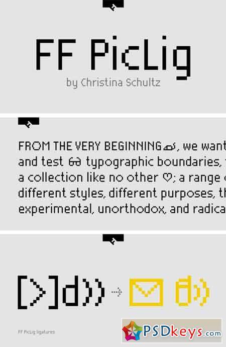 FF PicLig Font
