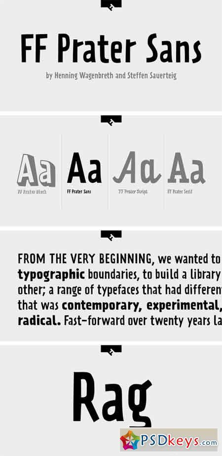 FF Prater Sans Font Family