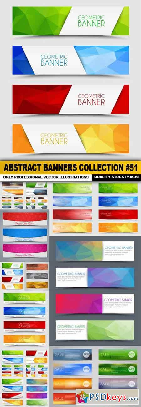 Abstract Banners Collection #51 - 12 Vectors
