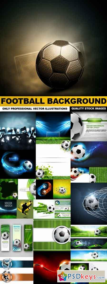 Football Background - 25 Vector