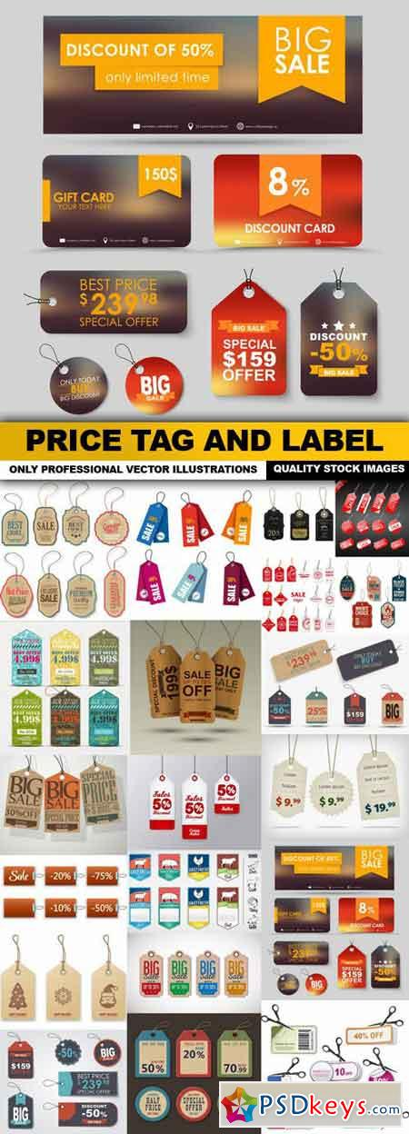 Price Tag And Label - 20 Vector