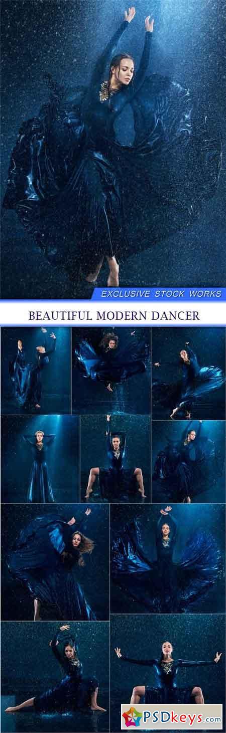Beautiful modern dancer 10X JPEG