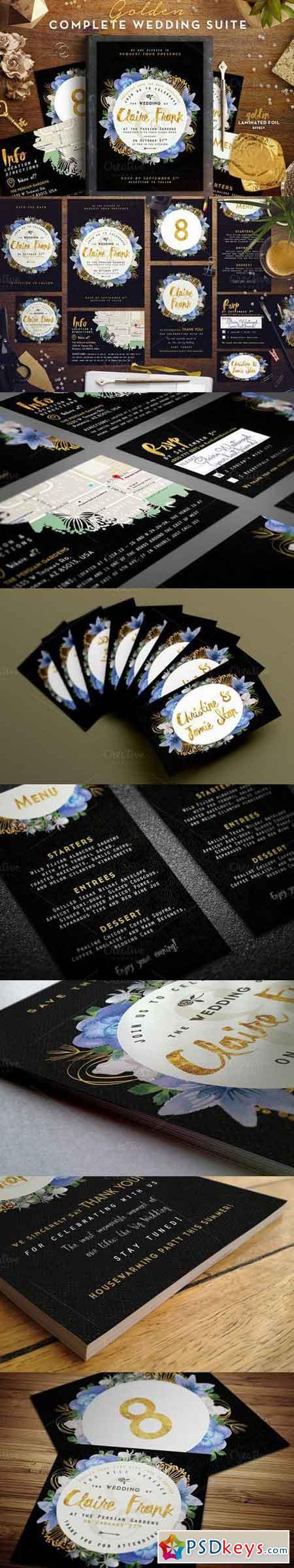 Wedding Suite VIII - Golden Foil EDT 682100