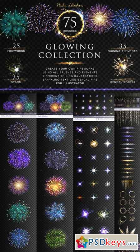 VECTOR GLOWING COLLECTION BRUSHES 685700