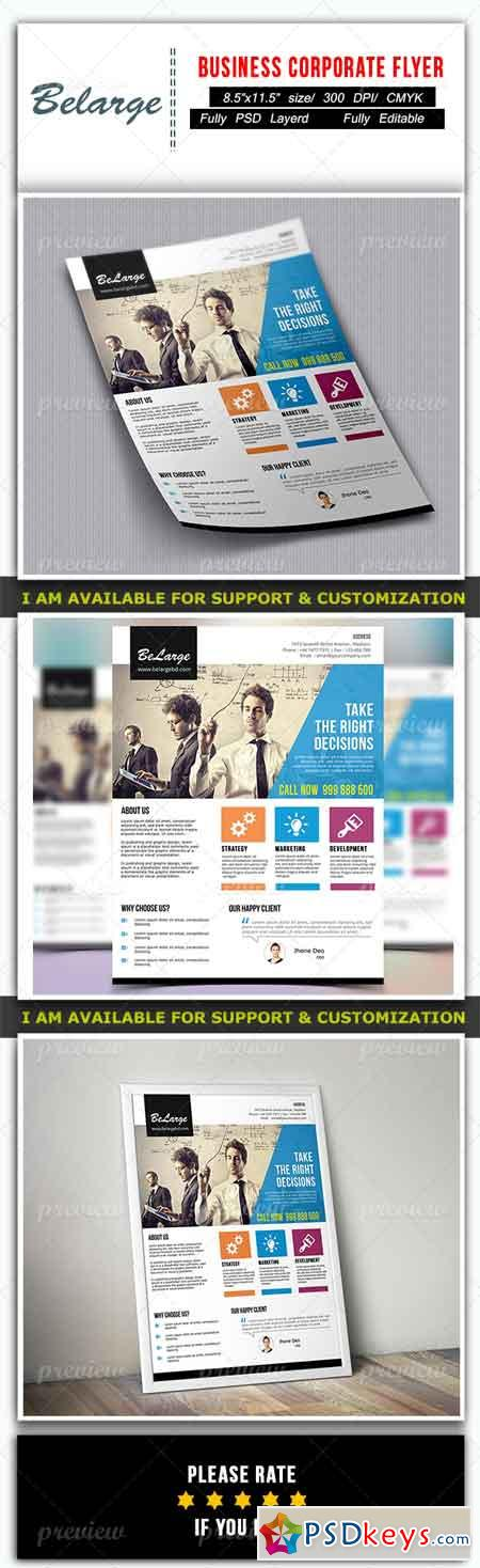Business Corporate Flyer 3701