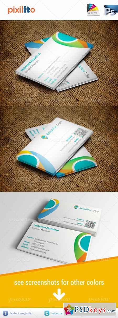 Travelling Business Card 2600