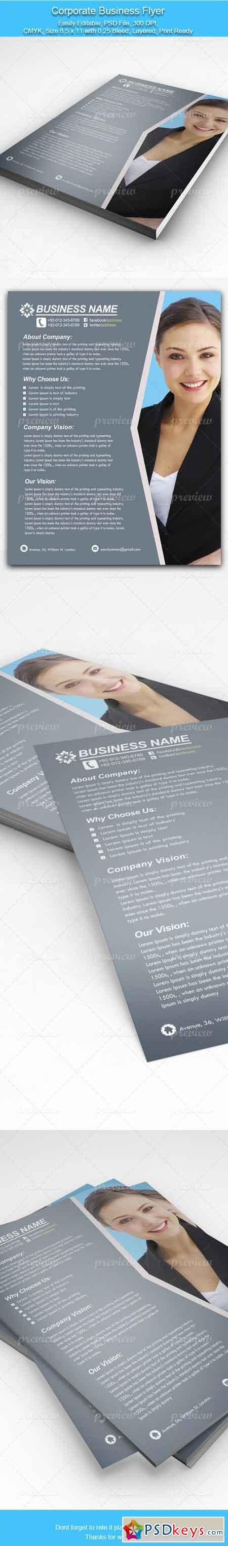Corporate Business Flyer 2806