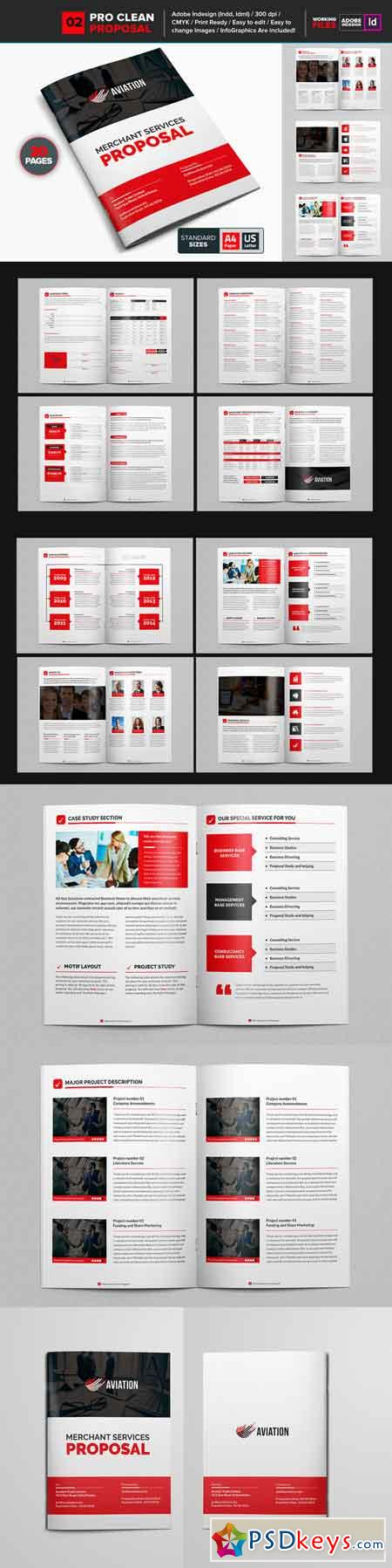 Clean Proposal Brochure Template 01 681496