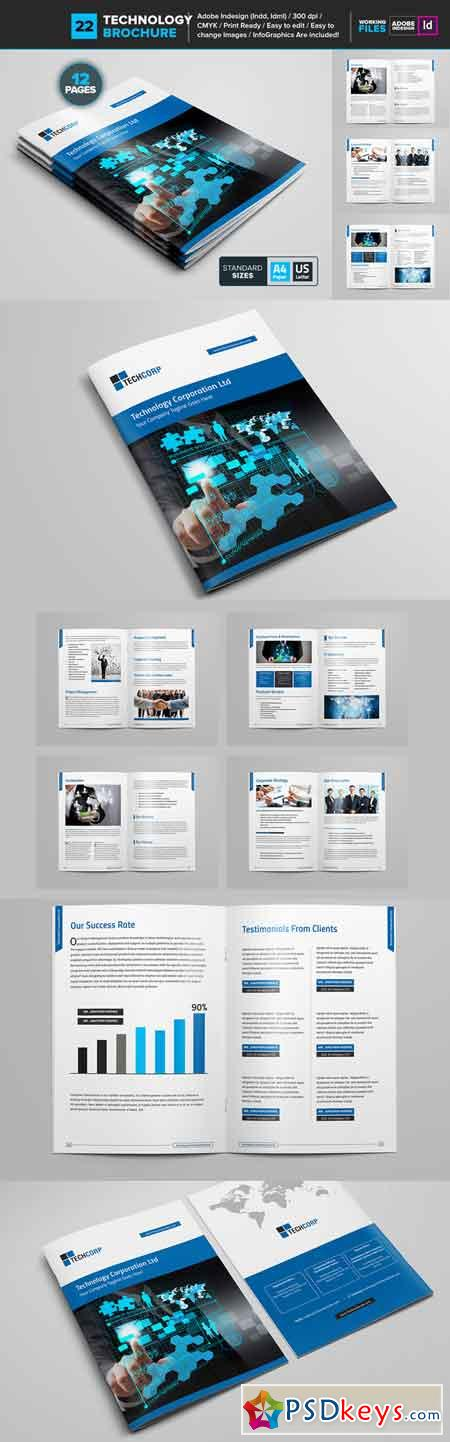 Technology brochure template 22 681136 free download for Technology brochure templates