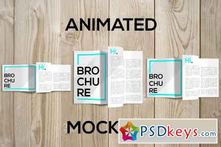 Animated Brochure Mockups PACK 674035