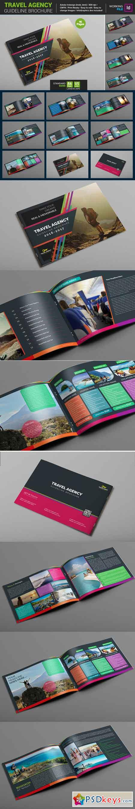 Travel Agency Guide Brochure 671212