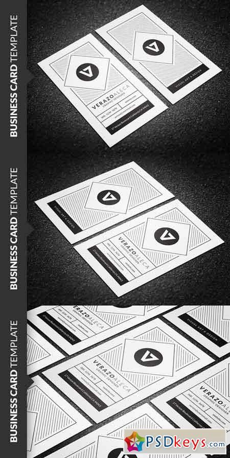 Clean Creative Business Card 684708