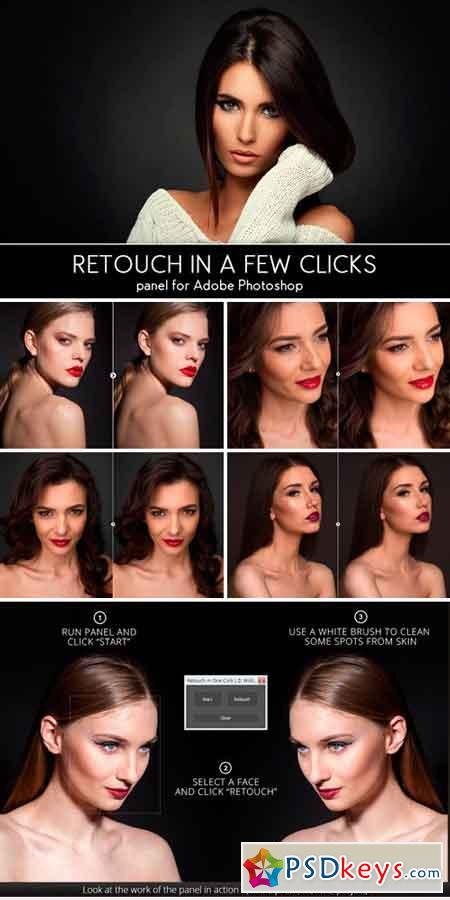 Retouch in a Few Clicks Panel 600794