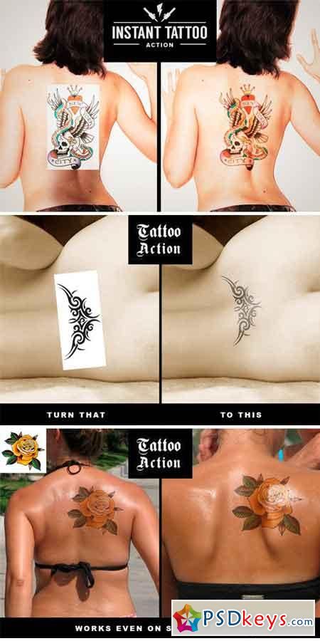 Instant Tattoo Action 611838