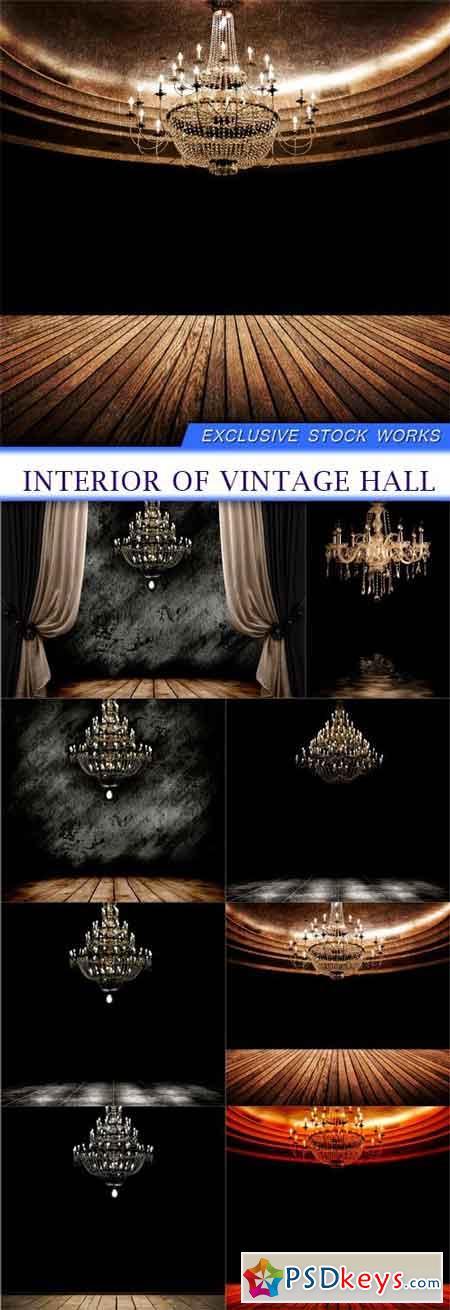 Interior of vintage hall 8x JPEG