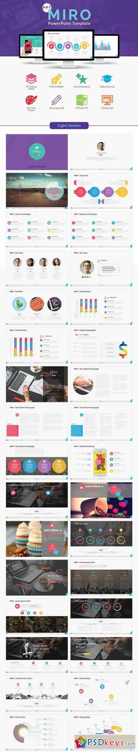 powerpoint templates torrents - miro powerpoint template 696572 free download